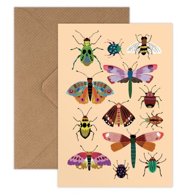 Brie Harrison Greeting Card - Insects