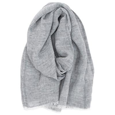 Lapuan Kankurit Lempi Linen Scarf - Melange Grey