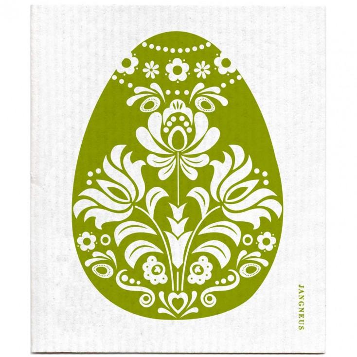 Jangneus Dishcloth - Green Egg