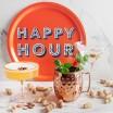 Asta Barrington Happy Hour Round Tray By Jamida