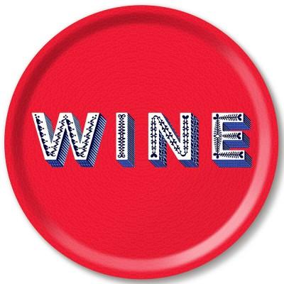 Asta Barrington Wine Round Tray By Jamida