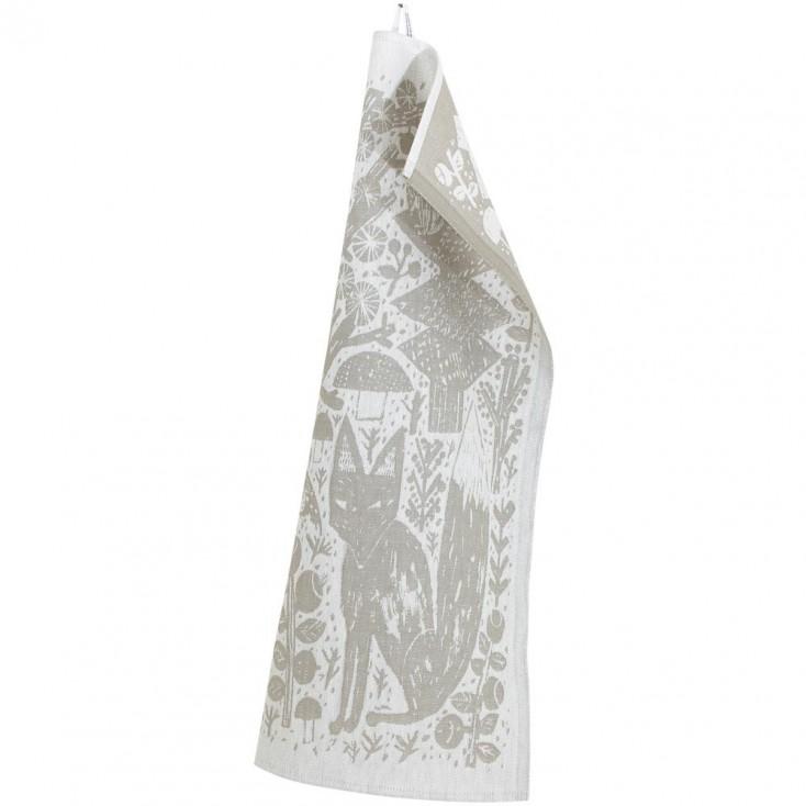 Lapuan Kankurit Metsikkö Tea Towel - Linen