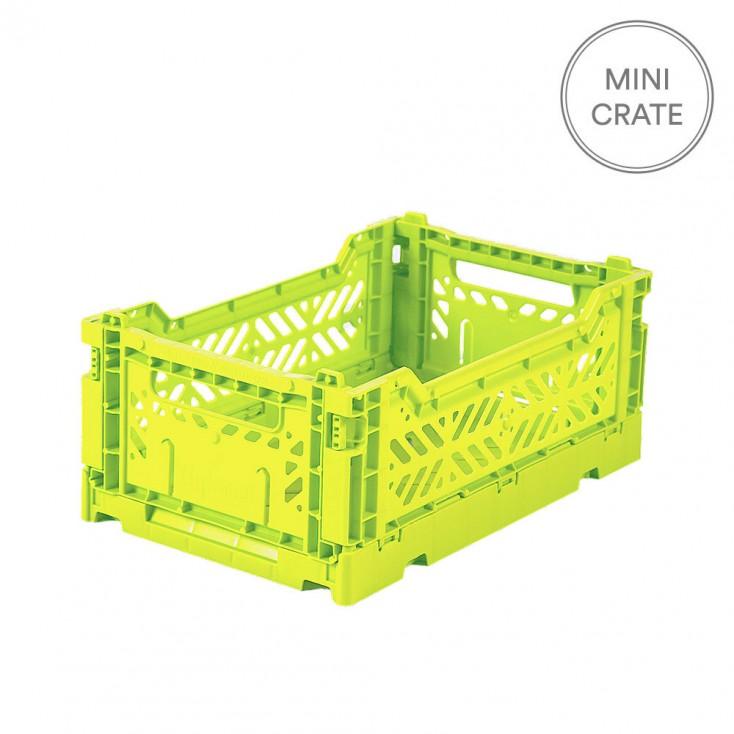 Aykasa Folding Crate Mini - Acid Lime