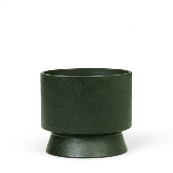 Rosendahl Dark Green Recycled Plant Pot - Ø 12 cm