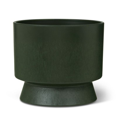 Rosendahl Dark Green Recycled Plant Pot - Ø 19 cm