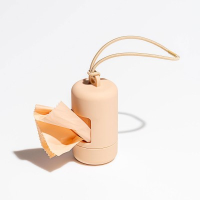 Wild One Poop Bag Carrier - Tan