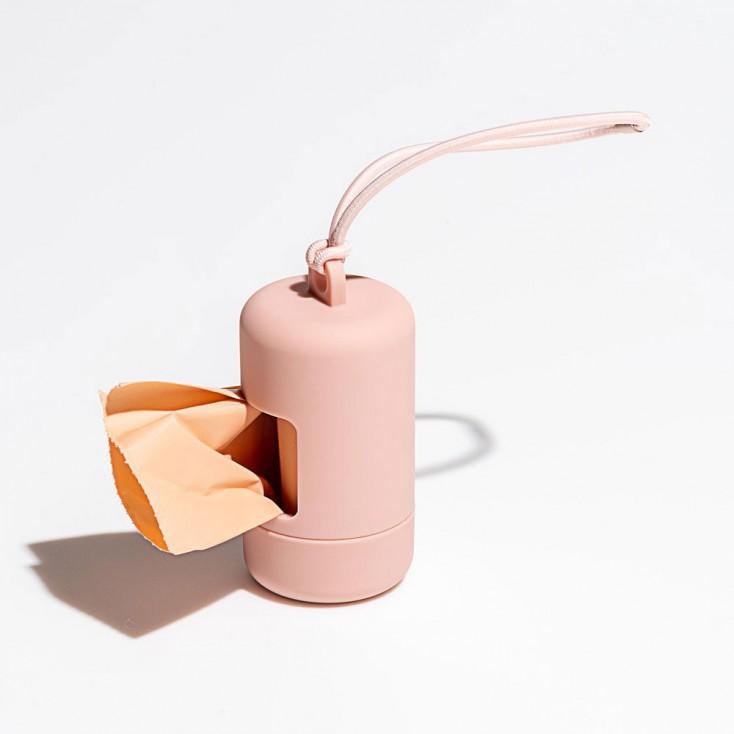 Wild One Poop Bag Carrier - Blush