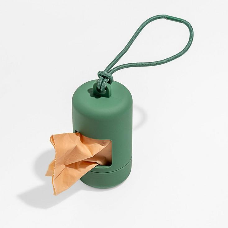 Wild One Poop Bag Carrier - Spruce Green