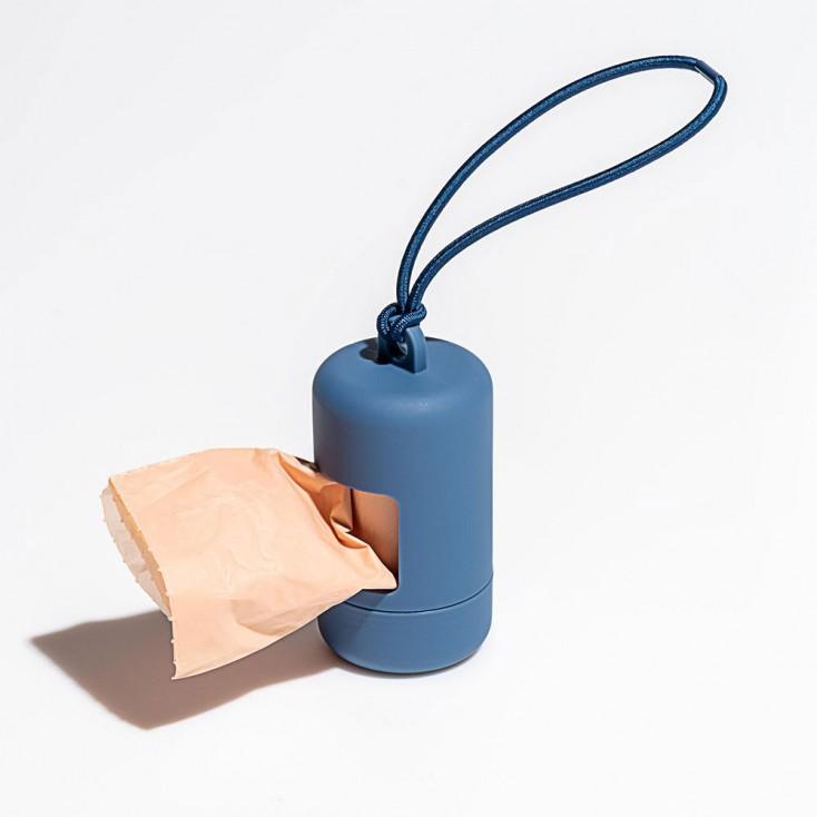 Wild One Poop Bag Carrier - Navy