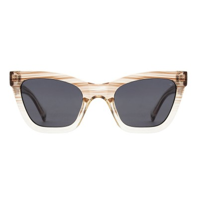 A.Kjaerbede Sunglasses - Big Kanye Demi Grey Crystal