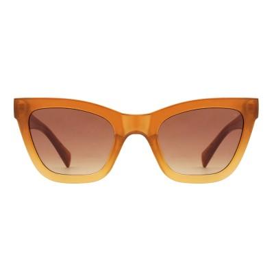 A.Kjaerbede Sunglasses - Big Kanye Light Brown Transparent