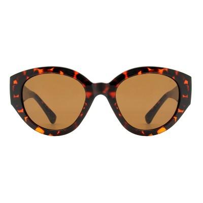 A.Kjaerbede Sunglasses - Big Winnie Demi Tortoise