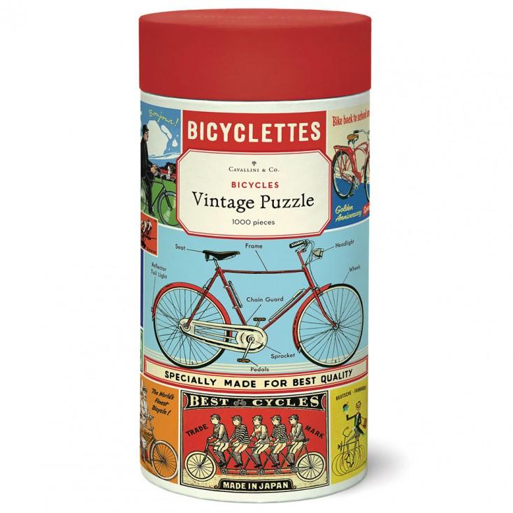 Cavallini & Co Bicycles 1000 Piece Jigsaw Puzzle