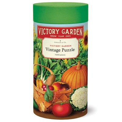 Cavallini & Co Victory Garden 1000 Piece Jigsaw Puzzle