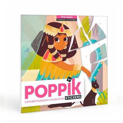 Poppik Princesses Sticker Puzzles