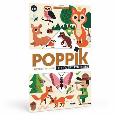 Poppik - Forest Sticker Poster