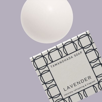 Tamanohada Lavender Ball Soap