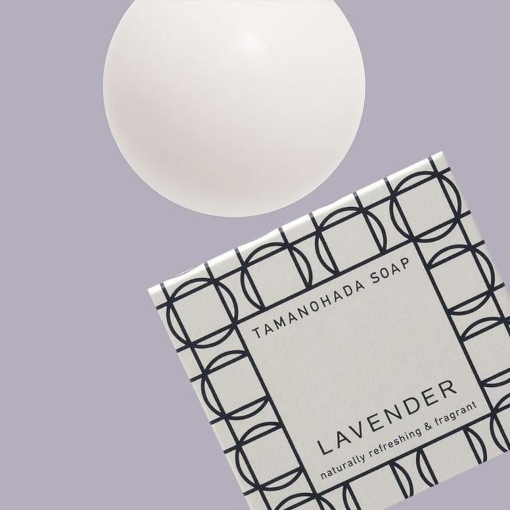 Tamanohada Lavender Ball Soap
