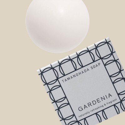 Tamanohada Gardenia Ball Soap