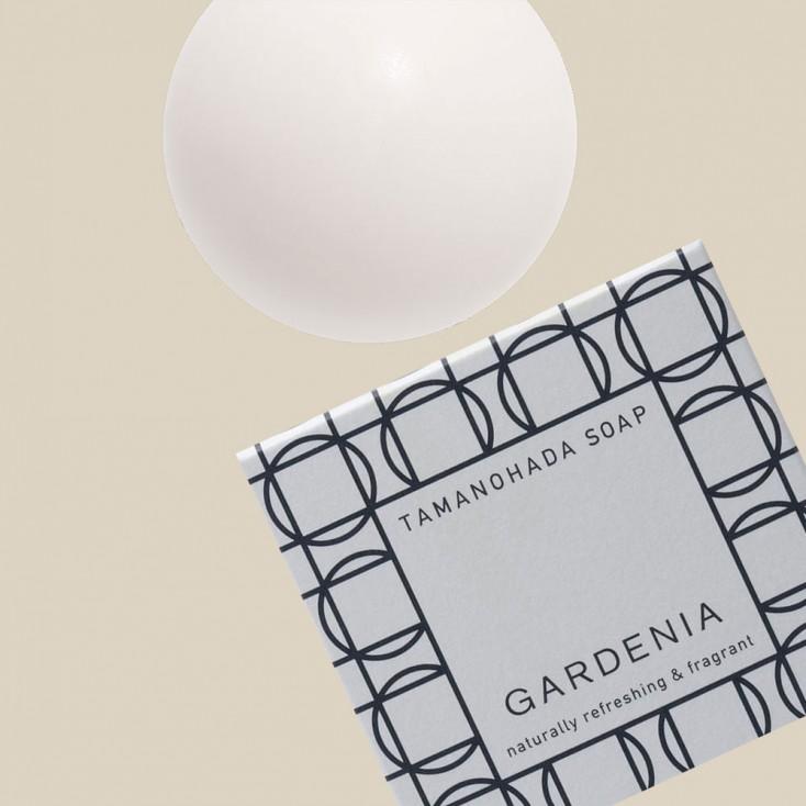 Tamanohada Gardenia Ball Soap