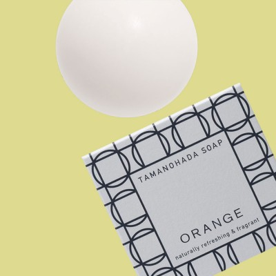 Tamanohada Orange Ball Soap