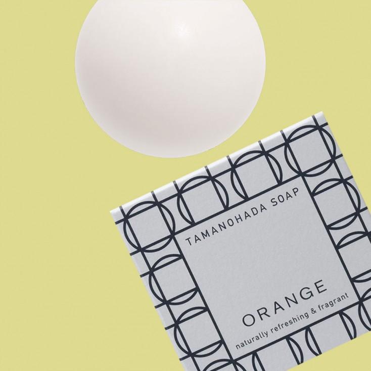 Tamanohada Orange Ball Soap