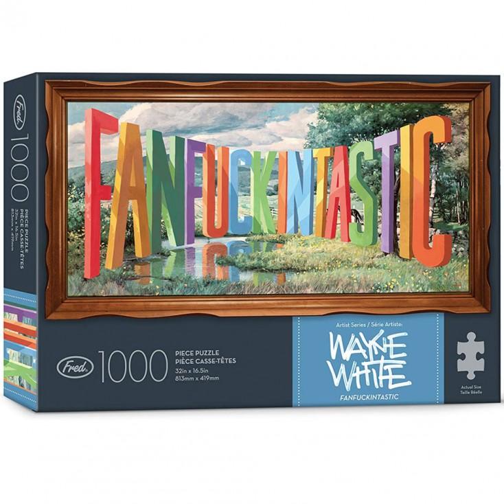 Wayne White Fankfuckintastic 1000 Piece Jigsaw Puzzle