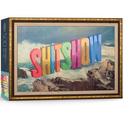 Wayne White Shitshow 1000 Piece Jigsaw Puzzle