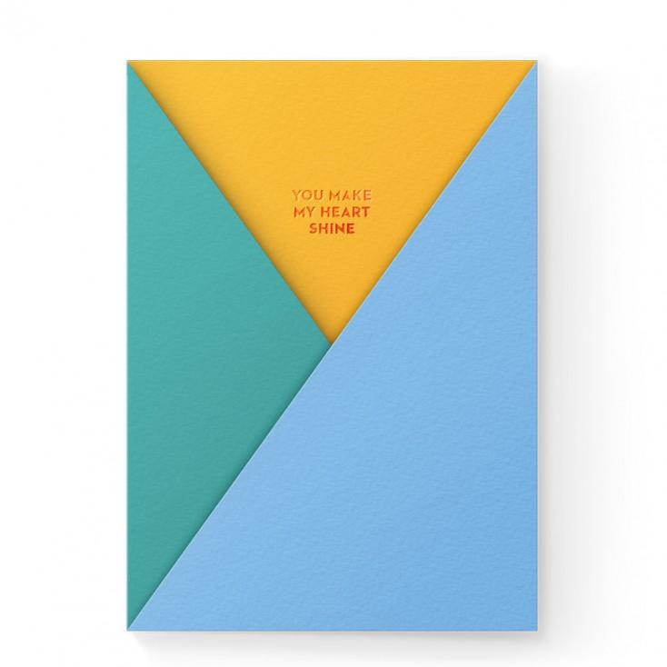 Dear Beni Heart Shine Pocket Greeting Card