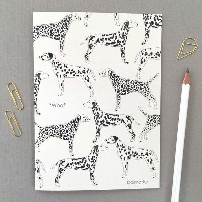 Elvira Van Vredenburgh Dalmatian Greeting Card
