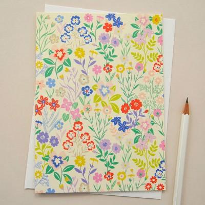 Elvira Van Vredenburgh Flora Greeting Card