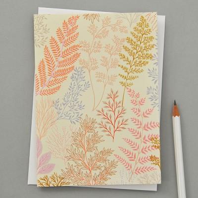 Elvira Van Vredenburgh Botanic Greeting Card