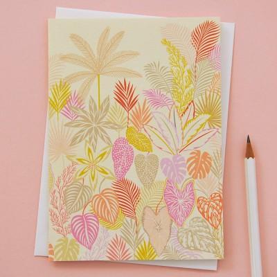 Elvira Van Vredenburgh 'Tropical Botanics'' Greeting Card