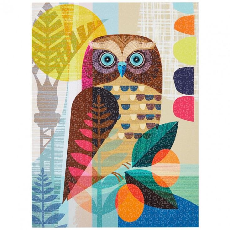 WerkShoppe Ruru Owl 1000 Piece Jigsaw