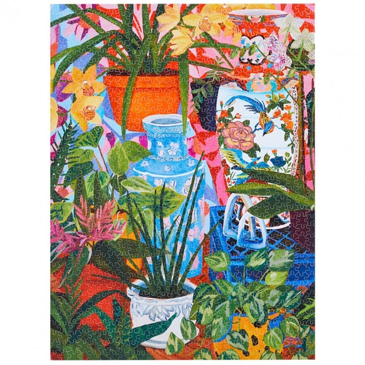 WerkShoppe Tropical Vases 1000 Piece Jigsaw