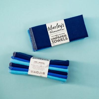 Marley's Monsters UNpaper® Towels Set of 6 - Blue