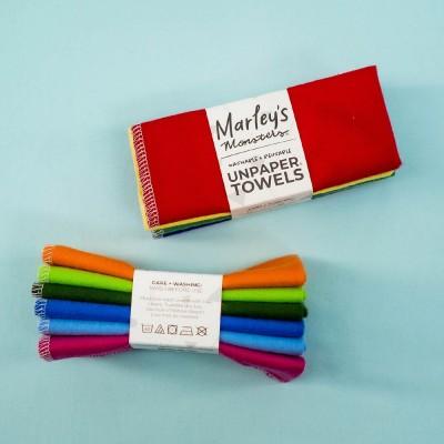 Marley's Monsters UNpaper® Towels Set of 6 - Rainbow