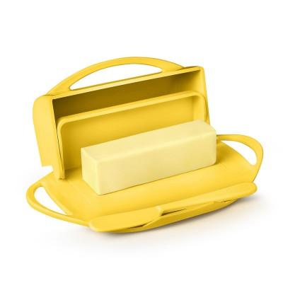 Butterie Flip-Top Butter Dish - Yellow