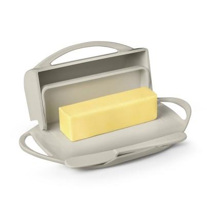 Butterie Flip-Top Butter Dish - Ivory
