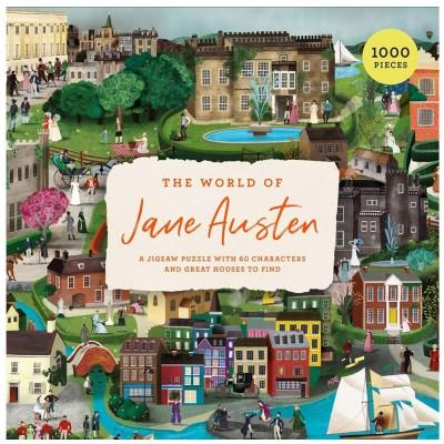 The World of Jane Austen 1000 Piece Jigsaw