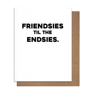 Pretty Alright Goods Friendsies Greeting Card