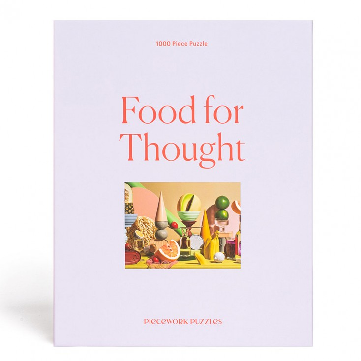 Piecework Puzzles Food For Thought 1000 Piece Jigsaw
