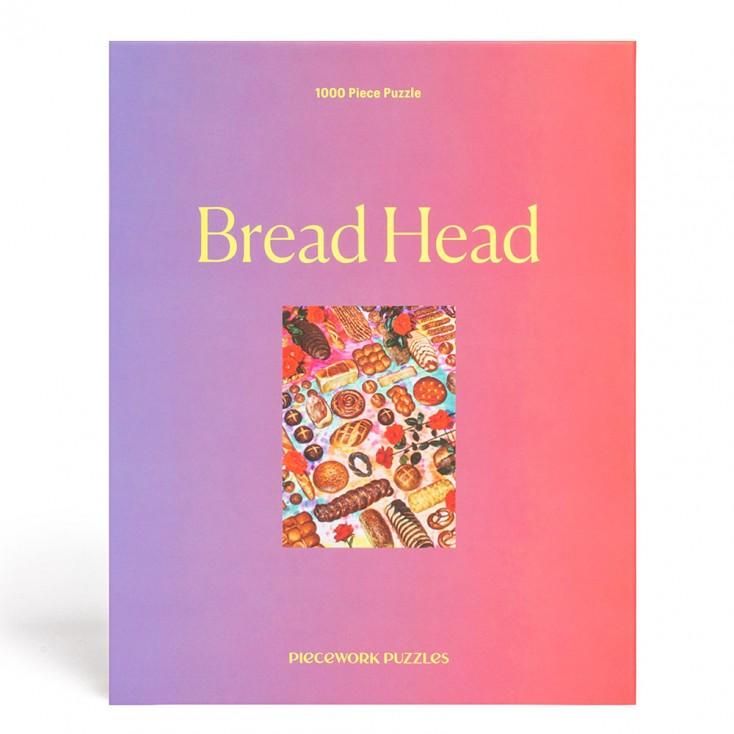 Piecework Puzzles Bread Head 1000 Piece Jigsaw