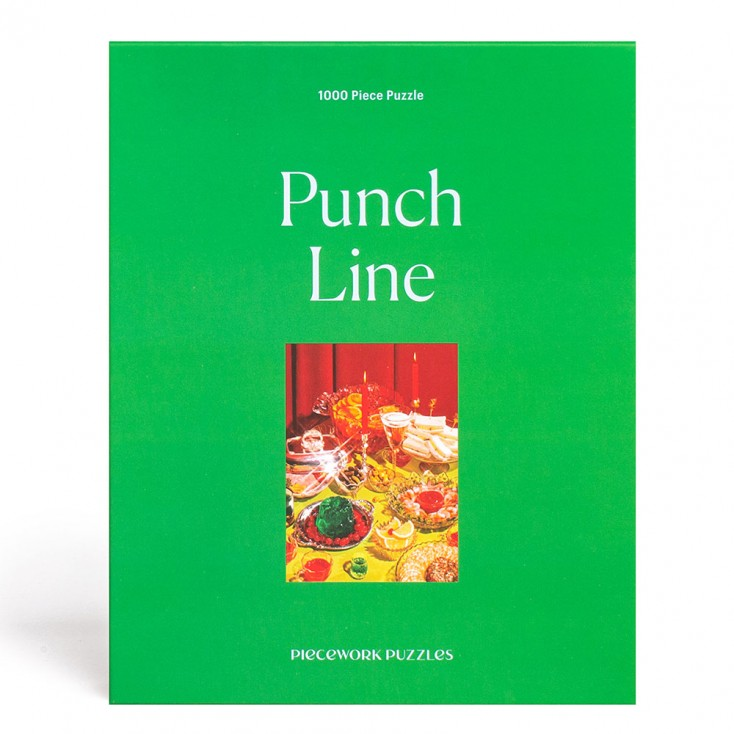 Piecework Puzzles Punch Line 1000 Piece Jigsaw