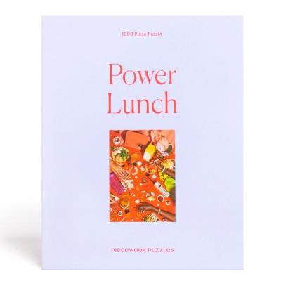 Piecework Puzzles Power Lunch 1000 Piece Jigsaw