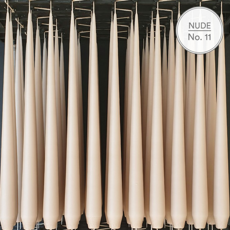Ester & Erik Tapered Candle - Nude 11