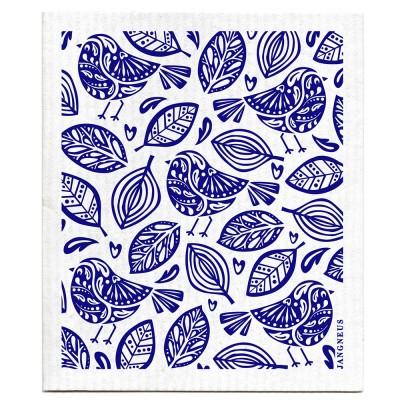 Jangneus Dishcloth - Blue Robin