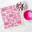 Jangneus Dishcloth - Pink Robins