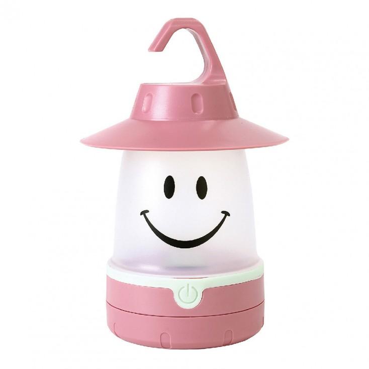 SMiLE LED Lantern - Peach Pink