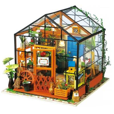 Cathy's Flower House - DIY Miniature Kit